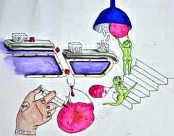 OVO Customer Service Illustration prep