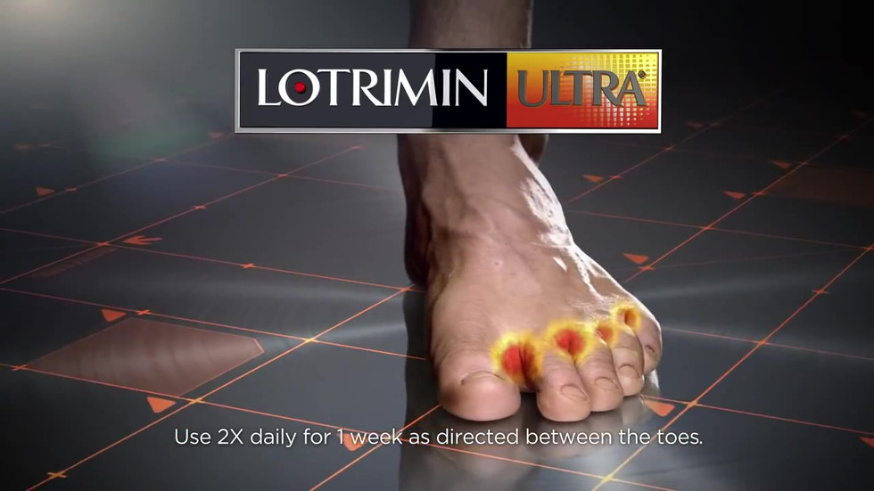 "Lotrimin Ultra ""Shower"""