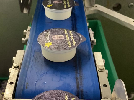 Welsh Clotted Cream churns off line