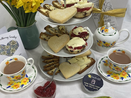 Mothering Sunday Welsh Afternoon Tea Gift Box