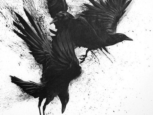 The Raven is one of Norse Mythology's most iconic creatures.