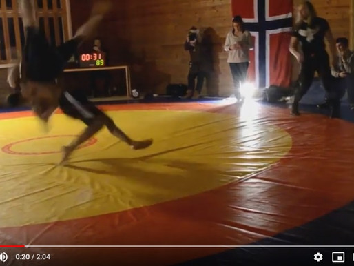 Watch Highlights from the Norwegian Glima Championship 2016