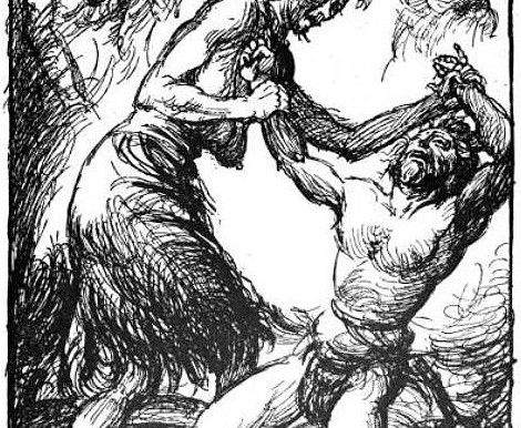 Wrestling in Norse Mythology