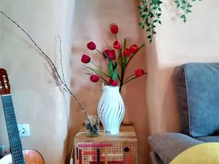 Main House Living Room - Details
