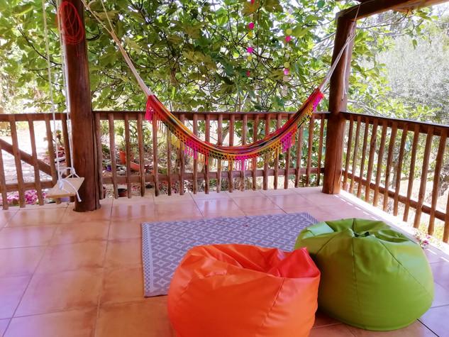 Porch, Yoga Shala and Workshop Hall - Details