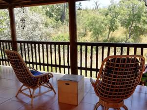 Porch, Yoga Shala and Workshop Lounge