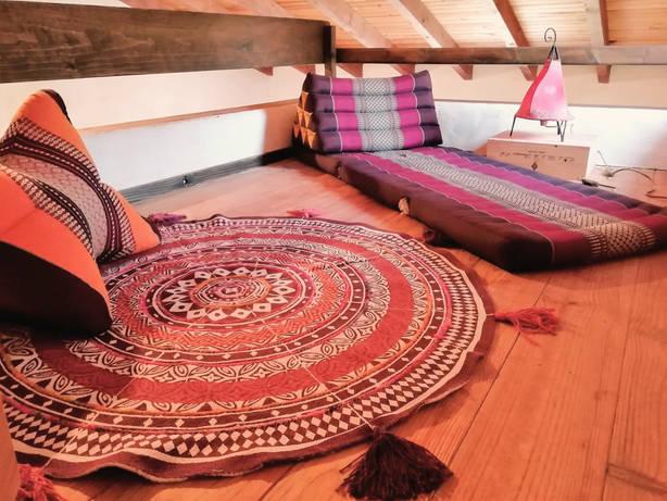 Dorm Meditation Corner
