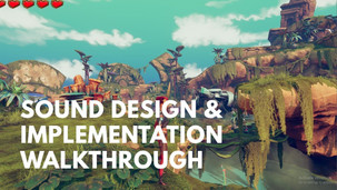 Sound Fx design and implementation