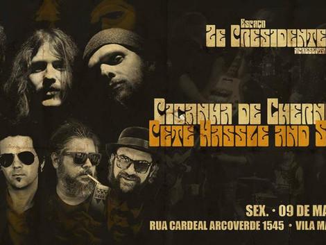 Picanha de Chernobill e Pete Hassle & Screw'd no Zé Presidente