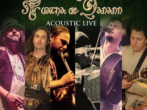 Show acústico da banda Tuatha De Danann no Sesc Belenzinho