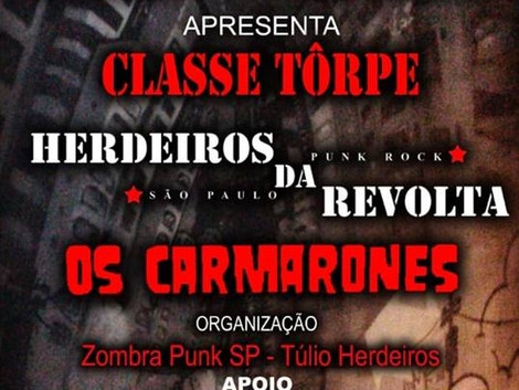 Punk Rock Contra Ataca no Underground Club