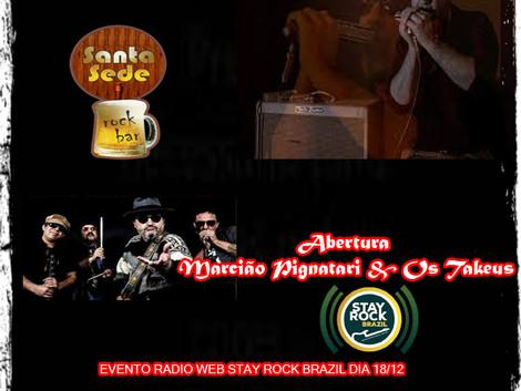 Evento Stay Rock Brazil / Santa Sede Rock Bar 18/12