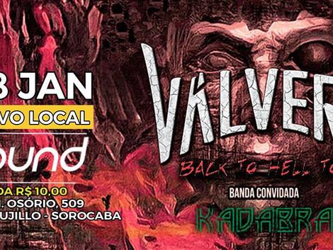 Válvera apresenta novo álbum em Sorocaba