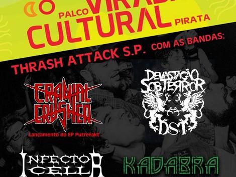 Thrash Attack Virada Cultural Pirata no Zapata