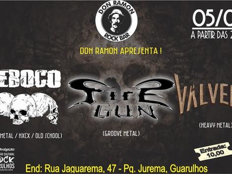 Metal Night no Dom Ramon em Guarulhos