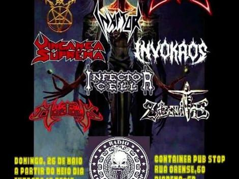 Décima terceira edição do Metal BR Underground Fest em Diadema