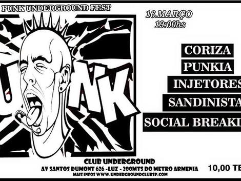 Festival Punk no Underground Club