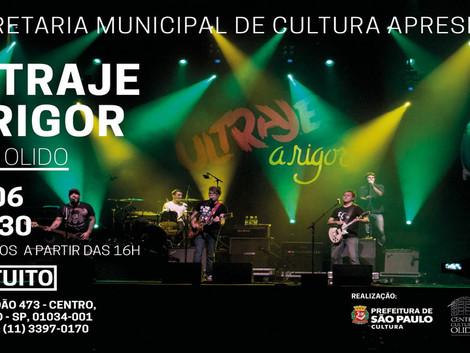 Show gratuito com a banda Ultraje a Rigor no Centro Cultural Olido