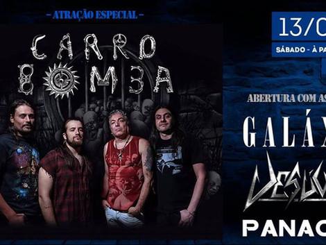 Sábado Especial com a banda Carro Bomba no Cervejazul
