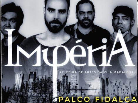 IMPÉRIA leva Rock and Roll à Vila Madalena