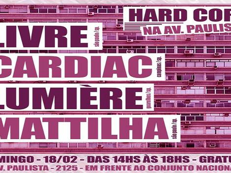 Hard Core na Avenida Paulista apresenta bandas underground de SP.