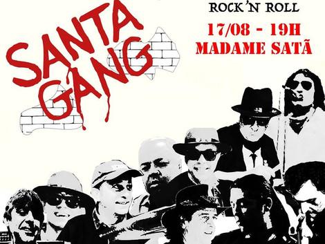 Santa Gang anuncia retorno da banda com show no Madame