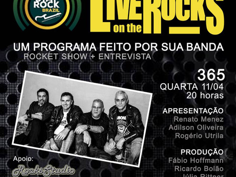 Live on the Rocks 11/04 com a banda 365