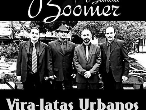 Show de lançamento do novo EP da banda Boomer na Vila Prudente