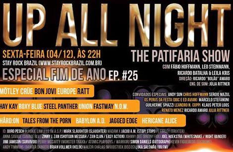 Up All Night – The Patifaria Show  episódio #25 - Ultimo de 2015 !!!