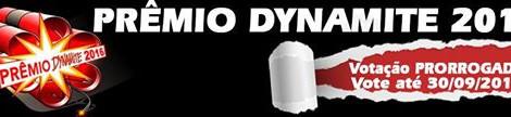 Estamos concorrendo !! Premio Dynamite - melhor emissora de radio !!