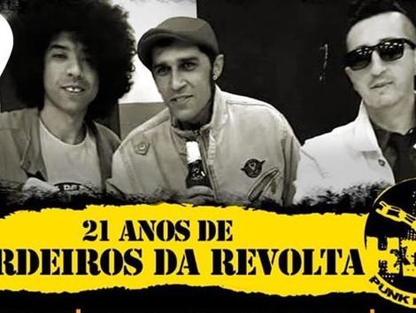 Casa de Cultura de São Mateus recebe show em comemoração aos 21 anos da banda Herdeiros da Revolta