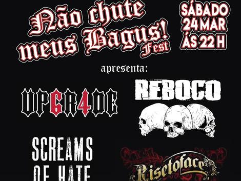 Bally Bagus Out recebe festival com bandas autorais de Guarulhos