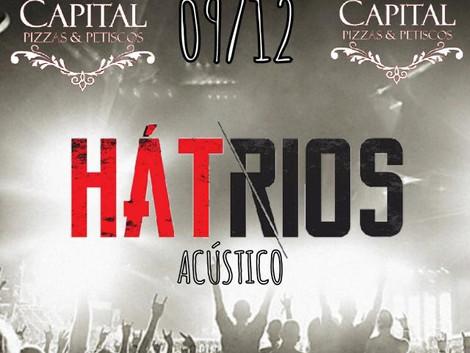 Show acústico da banda Hátrios em Guarulhos