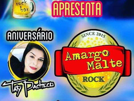 Santa Sede Rock Bar recebe show da banda Amargo Malte