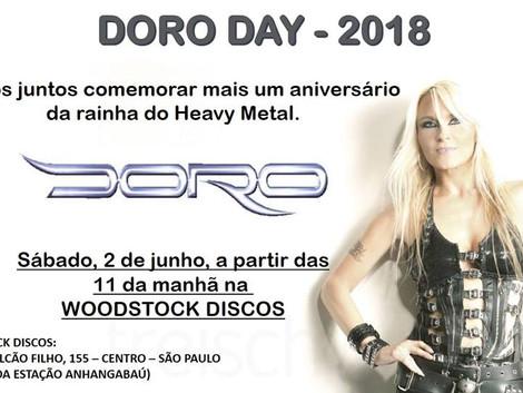 Doro Day 2018 na Woodstock Discos