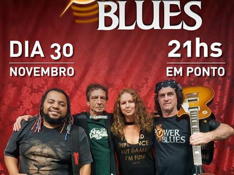 Show de pré-lançamento do CD da banda Power Blues no Santa Sede