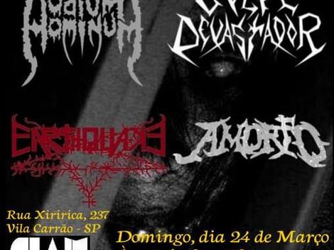 11ª edição do Metal BR Underground Fest no CIAM