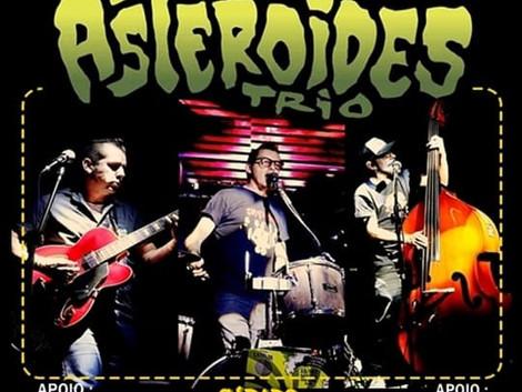 Sábado Rockabilly No Lava Motos com Asteroides Trio