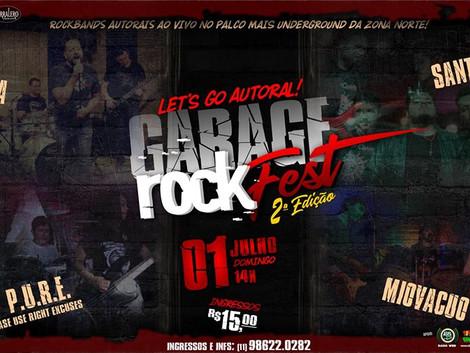 2ª edição do Garage Rock Fest agitará Zona Norte de SP