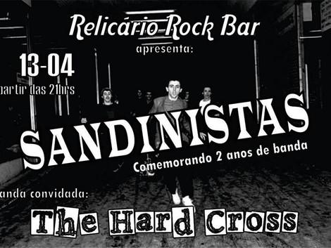 Relicário Rock Bar recebe show da banda Sandinistas