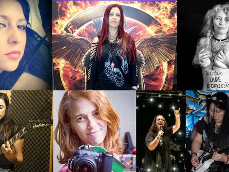Mulheres do Rock: elas são belas, elas são feras