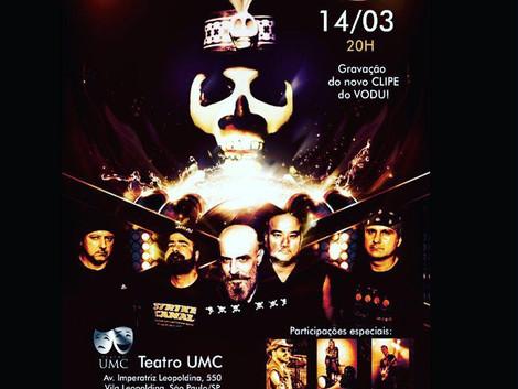 'Canja do Oka' recebe show do Vodu no Teatro UMC