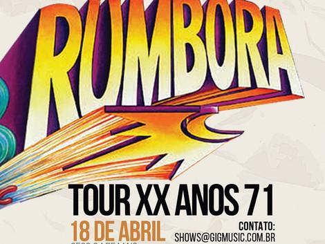 Sesc 24 de Maio recebe dois shows da banda Rumbora