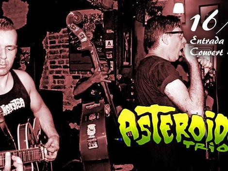 Asteroides Trio no Jailhouse Tatuapé