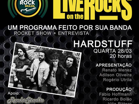 Live on the Rocks - Banda Hardstuff