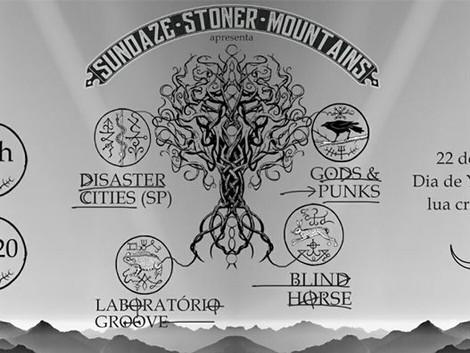 Bandas da Abraxas Records tocam e sorteiam CDs no Sundaze Stoner Mountains