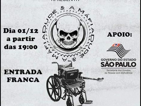 Virada Inclusiva 2018 com Dudé e A Máfia na Praça das Artes
