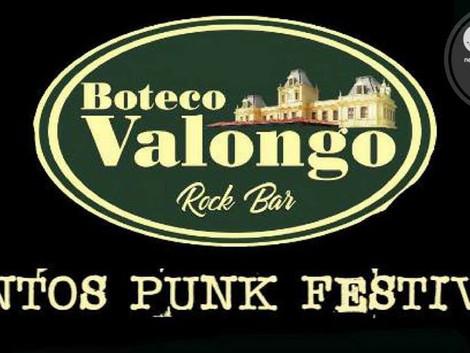 Santos Punk Festival reúne quatro bandas no Boteco Valongo