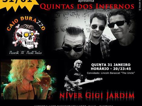 Quinta dos Infernos com Caio Durazzo Trio na Taberna ChoppWagen