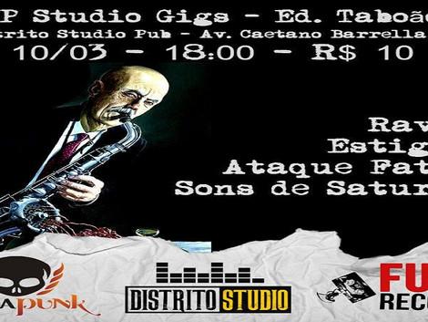 Festival ZP Studio Gigs #2 reúne bandas em Taboão da Serra